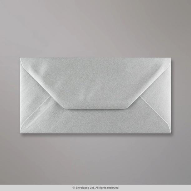 110x220 Mm Dl Metallic Silver Envelope E05dl Simply
