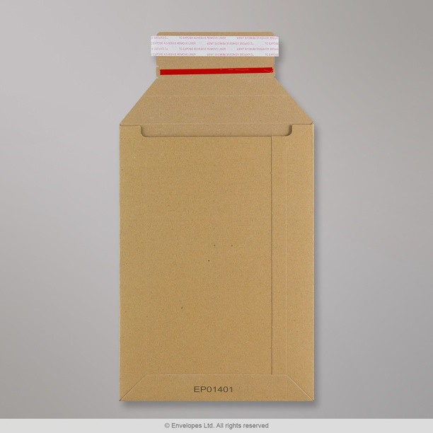 245x170 mm solid manilla all board mailer