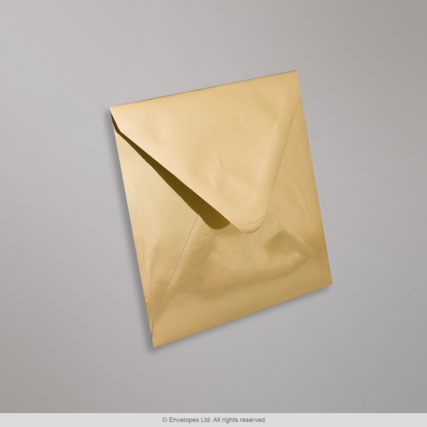130x130 mm busta con effetto specchio in oro ge130 - Costo specchio a mq ...