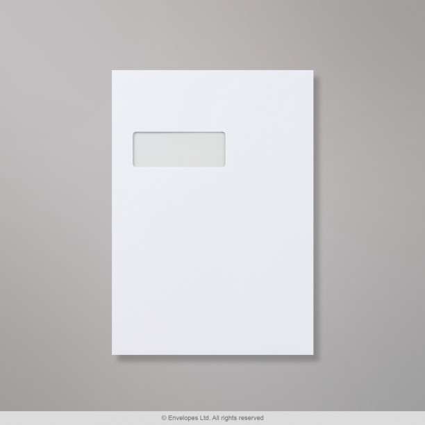 324x229 mm c4 white window envelope gemm203 simply for Window envelopes