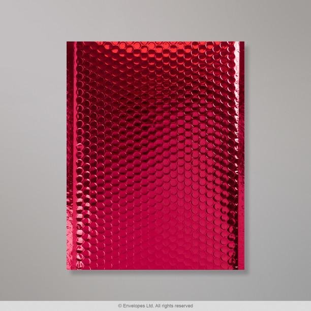 fd445c7c1d55 324x230 mm (C4) Rød Metallisk Bobletaske