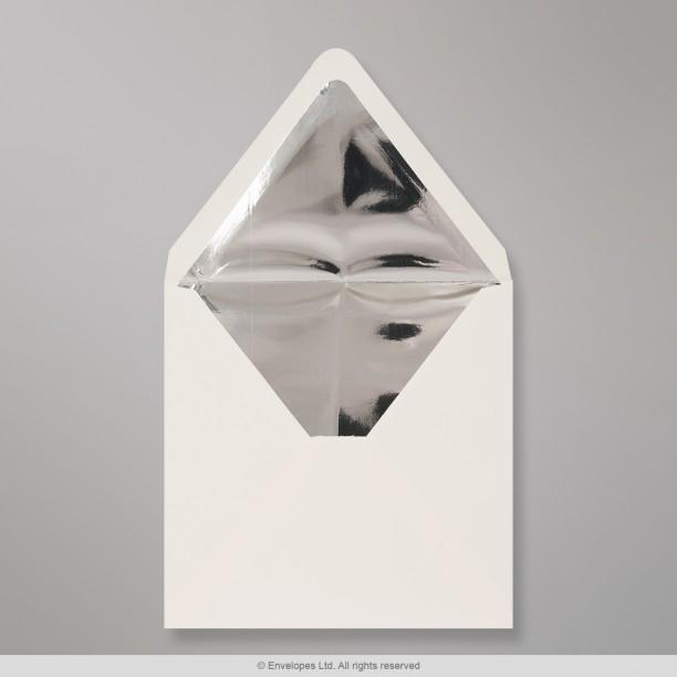 160x160 mm elfenbein briefumschlag mit silbernem folien innenfutter tl160s umschl ge deutschland. Black Bedroom Furniture Sets. Home Design Ideas