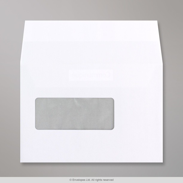114x162 mm c6 white communique window envelope wt01802 for Window envelopes