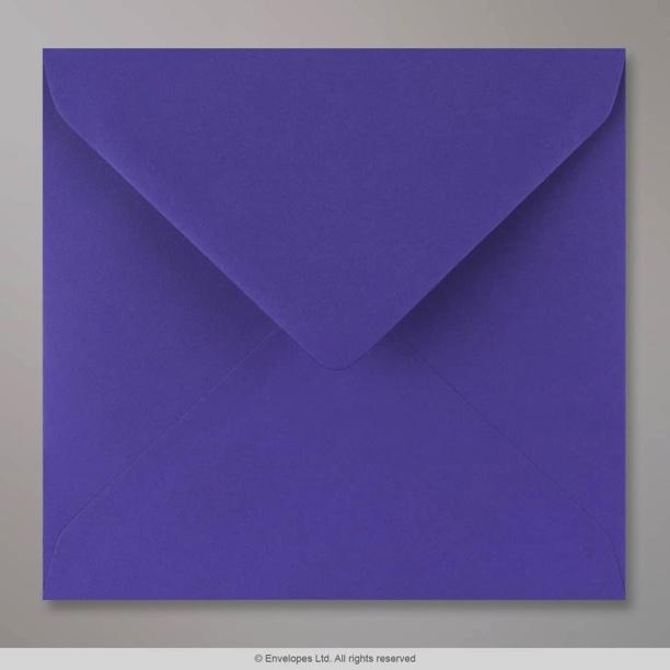 155x155 mm iris blue envelope