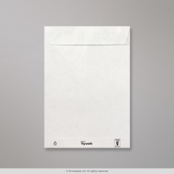 250x176 mm White Tear Resistant Envelope