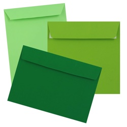 Clariana Green Envelopes