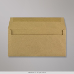 102x216 mm (DL) Manilla Recycled Envelope