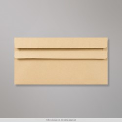 220x110 mm (DL) Manilla Envelope, Manilla, Self Seal