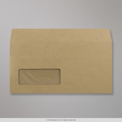 110x220 mm (DL) Manilla Envelope, Manilla, Self Seal