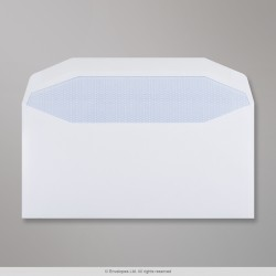 110x220 mm (DL) White Envelope