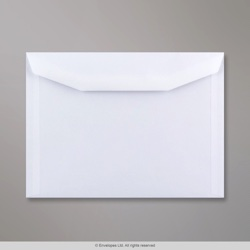 162x229 mm (C5) White Envelope, White, Gummed