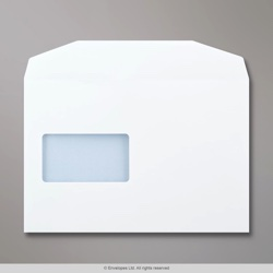 162x238 mm (C5+) White Envelope CBC