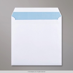 220x220 mm White Envelope, White, Self Seal