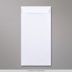 305x152 mm White Envelope, White, Peel and Seal