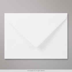 159x210 mm White Envelope, White, Gummed