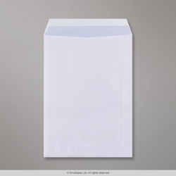 229x162 mm (C5) White Envelope, White, Self Seal