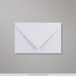 94x143 mm White Envelope, White, Gummed