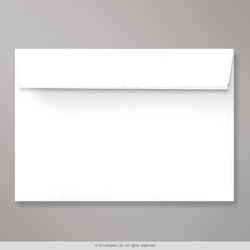 121x171 mm White Envelope, White, Peel and Seal