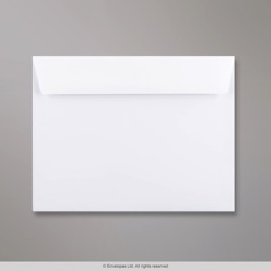 162x210 mm White Envelope, White, Peel and Seal