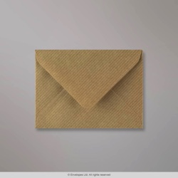 82x113 mm (C7) Brown Ribbed Envelope