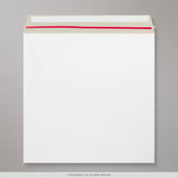 340x340 mm White All Board Envelope, White,