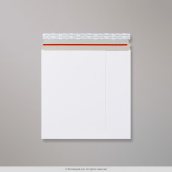 249x249 mm White All Board Envelope, White, Peel and Seal