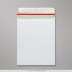 241x178 mm White All Board Envelope, White, Peel and Seal