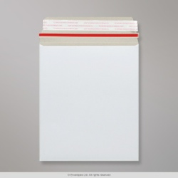 273x222 mm White All Board Envelope, White, Peel and Seal