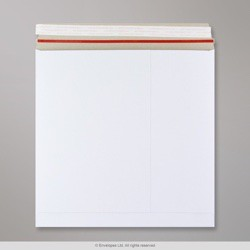 300x300 mm White All Board Envelope, White, Peel and Seal