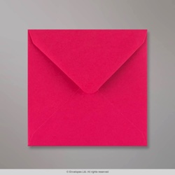 130x130 mm Fuschia Pink Envelope, Fuschia Pink, Gummed