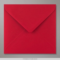 155x155 mm Scarlet Red Envelope