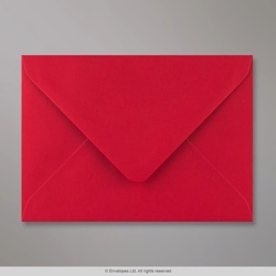 114x162 mm (C6) Scarlet Red Envelope, Scarlet Red, Gummed