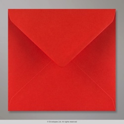 155x155 mm Poppy Red Envelope