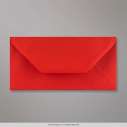 110x220 mm (DL) Poppy Red Envelope