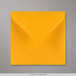 140x140 mm Golden Yellow Envelope