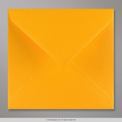 155x155 mm Golden Yellow Envelope, Golden Yellow, Gummed