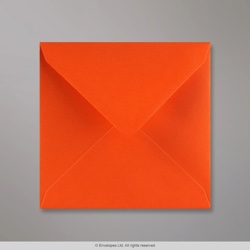 130x130 mm Orange Briefumschlag