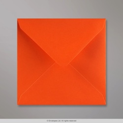 140x140 mm Orange Briefumschlag