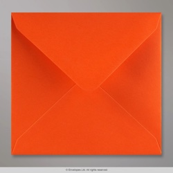 155x155 mm envelope laranja