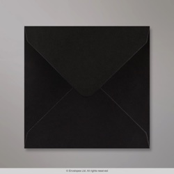 140x140 mm Black Envelope