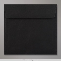 170x170 mm Black Envelope