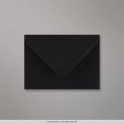 82x113 mm Black Envelope, Black, Gummed