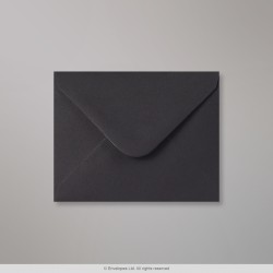95x122 mm Black Envelope, Black, Gummed