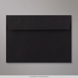 114x162 mm Black Envelope