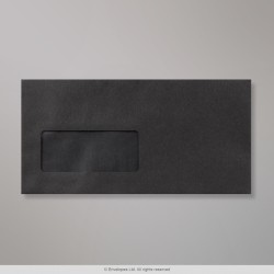 110x220 mm (DL) envelope preto