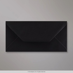 110x220 mm (DL) Black Envelope