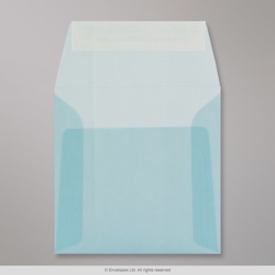 125x125 mm Pale Blue Translucent Envelope