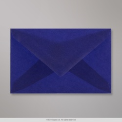 62x98 mm Dark Blue Translucent Envelope, Dark Blue, Gummed