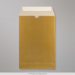 235x162 mm Gold All Board Envelope