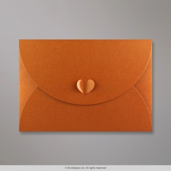 162x229 mm (C5) Copper Butterfly Envelope